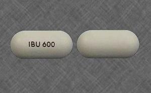 Generic Ibuprofen (Motrin) 600 mg