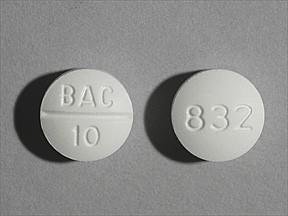 Baclofen 10 mg D