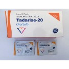 Tadalafil 20 mg-tira de jalea (disolución oral)