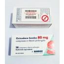 Oxycodone 80 mg by Sandoz