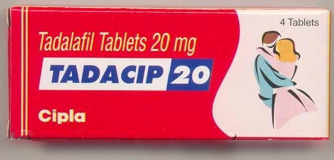 Tadacip (Cialis Générique) 20 mg