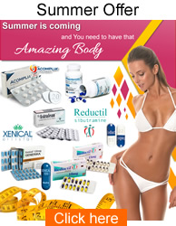 weight loss products reductil acomplia xenical