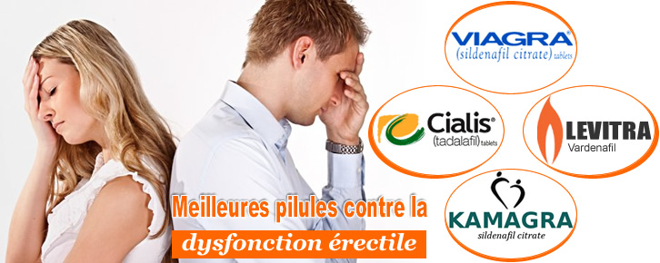 acheter en ligne viagra sildenafil, cialis tadalafil, levitra vardenafil pour dysfonction érectile
